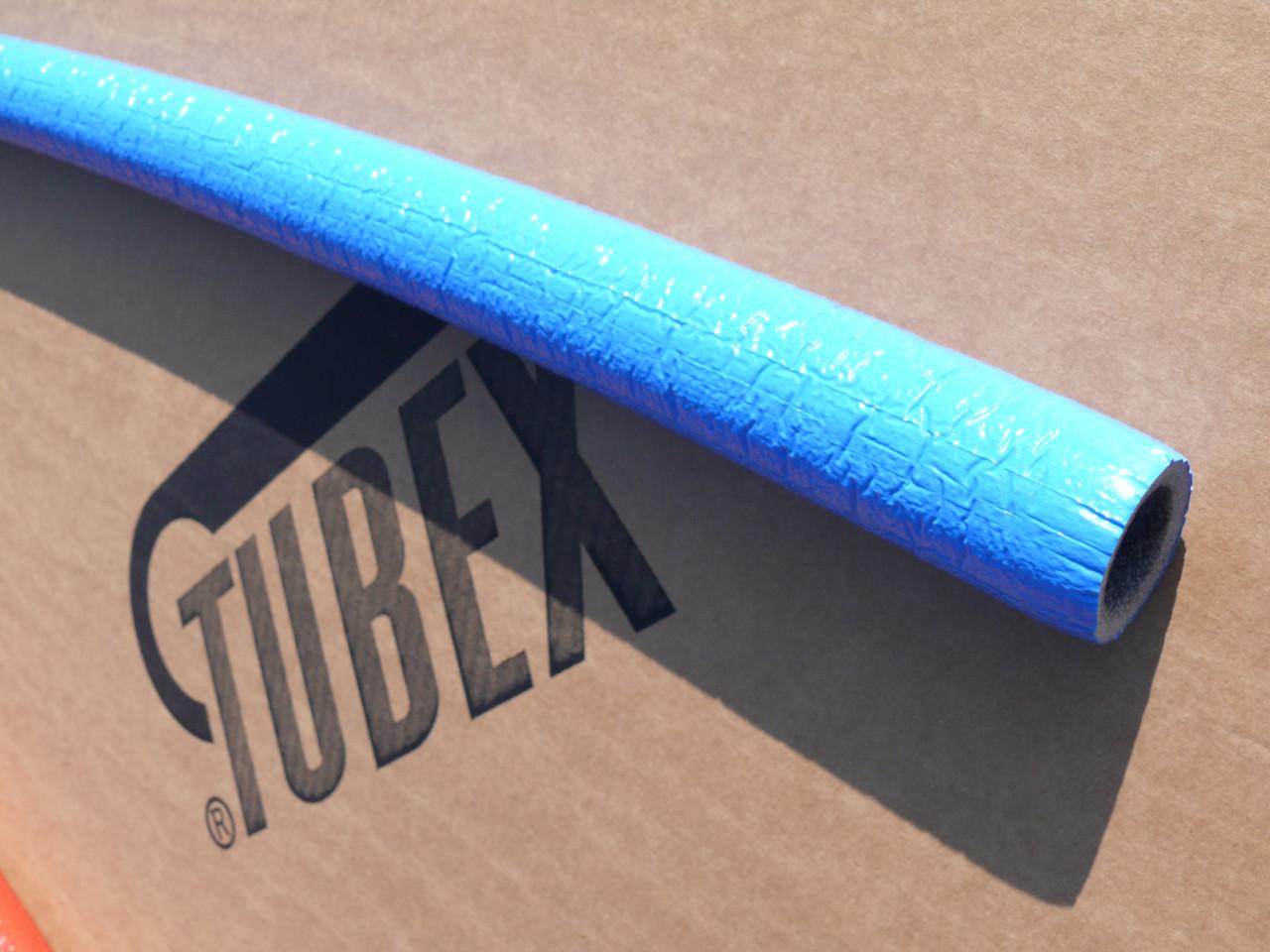 ІЗОЛЯЦІЯ ДЛЯ ТРУБ TUBEX® Protekt, синня, внутрішній діаметр 42 мм, товщина стінки 6 мм, виробник Чехія