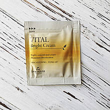 Пробник Крем для ровного тона лица The Skin House Vital Bright Cream, 2 мл
