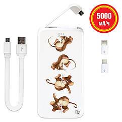 Мобильное зарядное устройство С Новым Годом, 5000 мАч (E505-48)