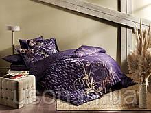 Комплект постельного белья сатин delux tac евро размер ALITA MOR