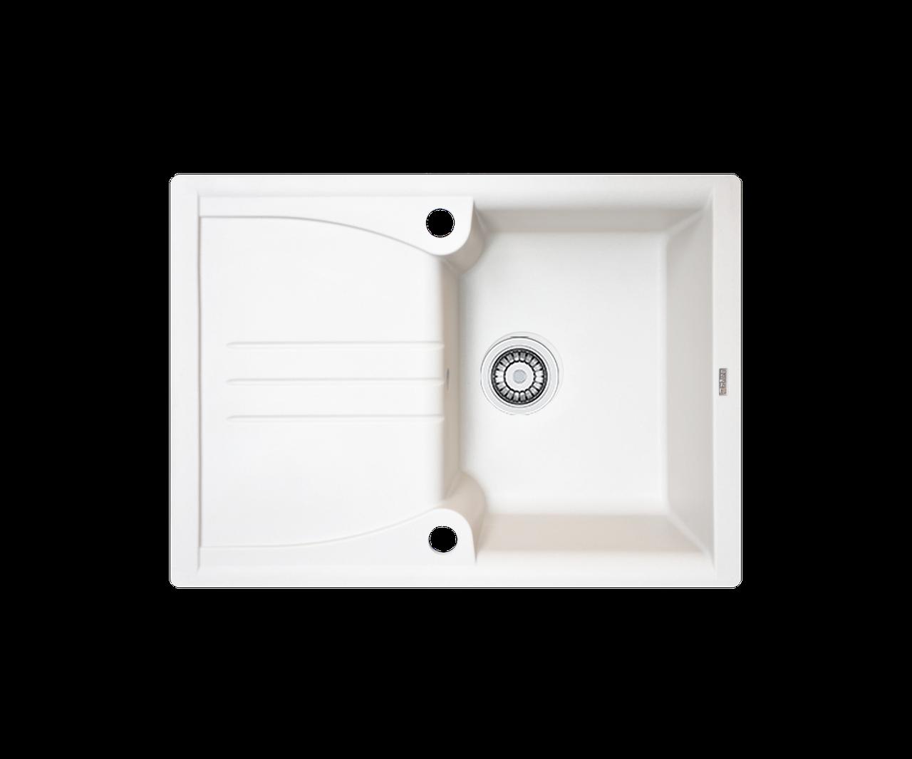 Кухонна мийка гранітна Borgio PRA-680x500  перлистий