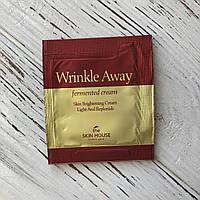 Пробник Антивозрастной ферментированный крем The Skin House WRINKLE AWAY FERMENTED CREAM, 2 мл