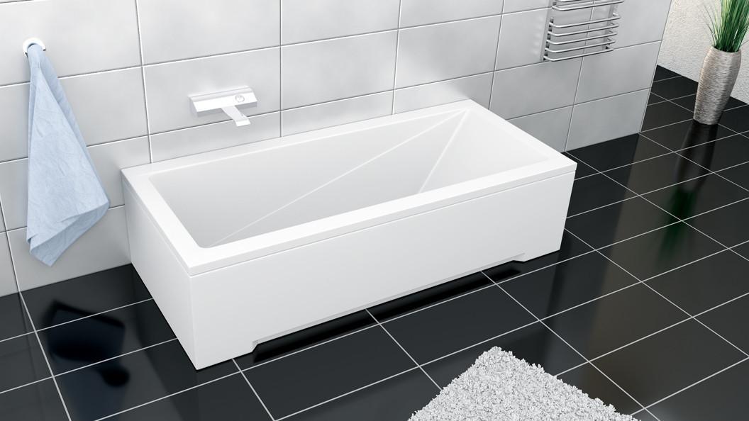 Акриловая ванна MODERN 170х70 Besco PMD Piramida