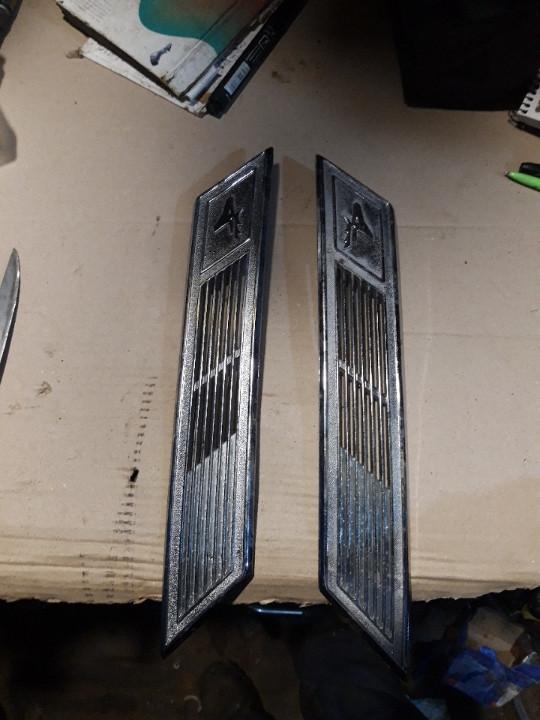Облицовка боковины крыши Газ 3102 комплект
