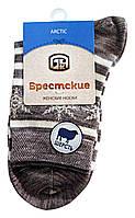 Носки женские полушерстяные Брестские Arctic 15С1404, рис.045, р.23, капучино