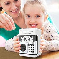 Детский электронный сейф-копилка c кодовым замком., фото 1