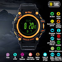 M-Tac часы тактические Adventure Black/Orange (50005035)