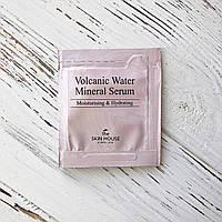 Пробник Сыворотка с вулканической водой для сухой кожи The Skin House Volcanic Water Mineral Serum, 2 мл
