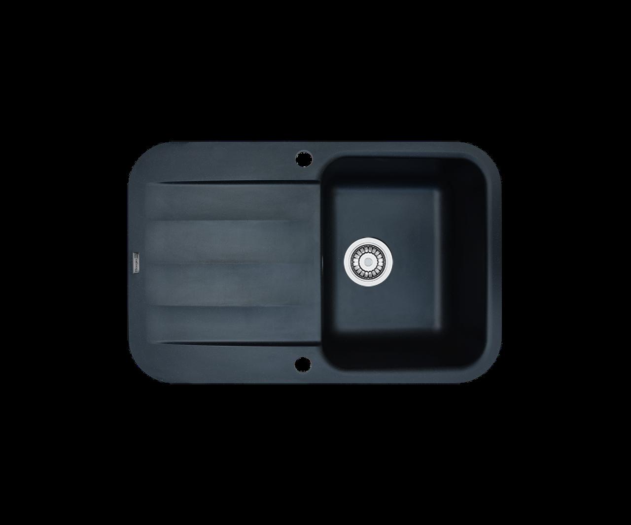 Кухонна мийка гранітна Borgio PRO-780x500 чорний