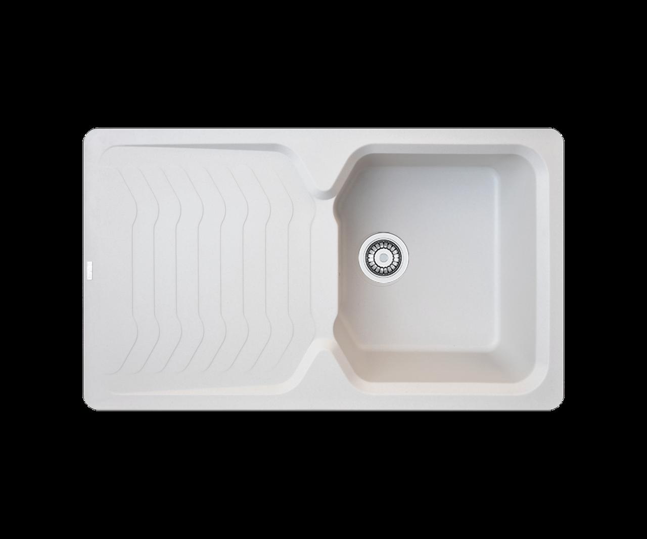 Кухонна мийка гранітна Borgio PRT-860х500  перлистий