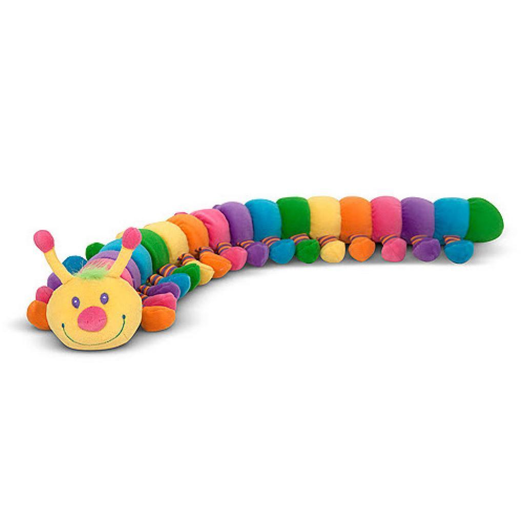 Мягкая игрушка Melissa&Doug Веселая гусеничка, 69 см (MD7690)