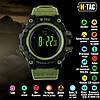 M-Tac часы тактические Adventure Black/Olive (50005001)