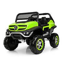 Детский электромобиль Джип M 4133EBLR-5 зеленый