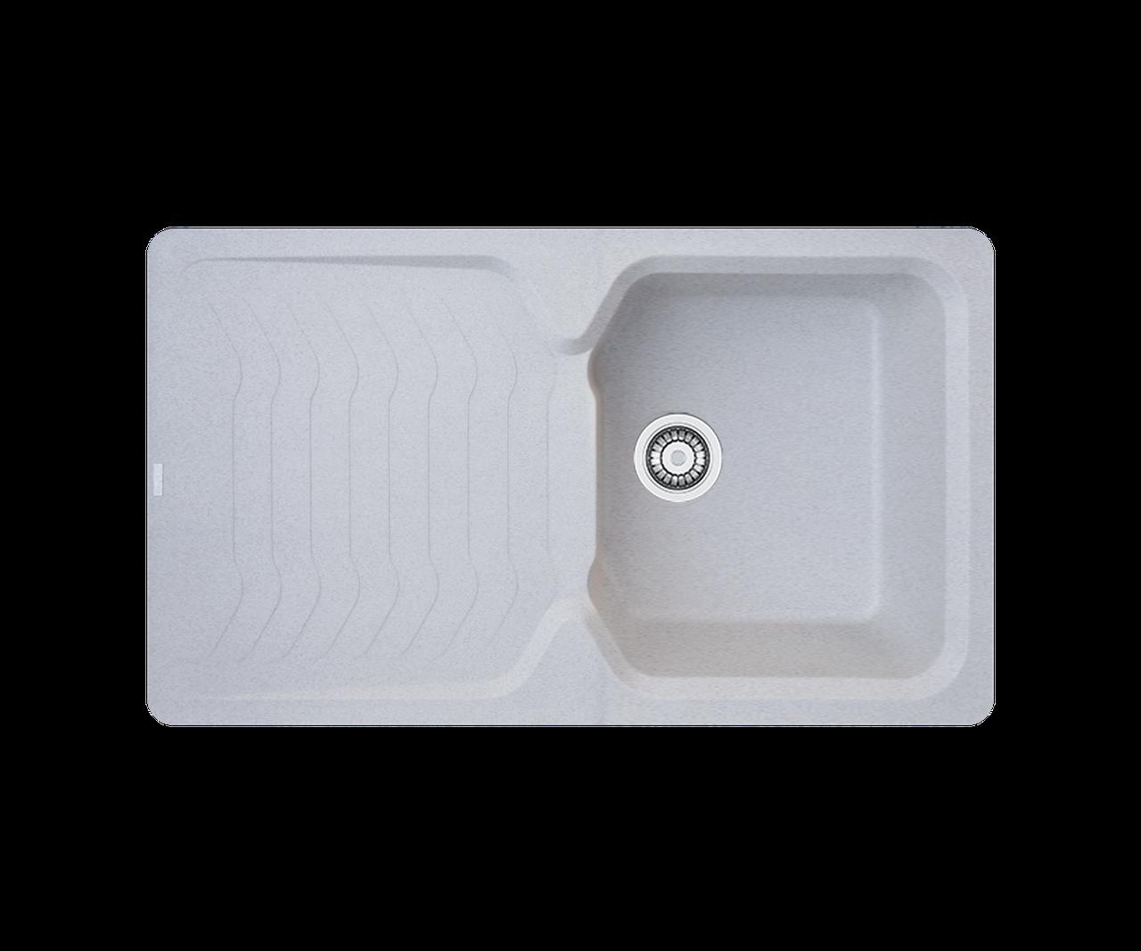 Кухонна мийка гранітна Borgio PRT-860х500 мигдаль