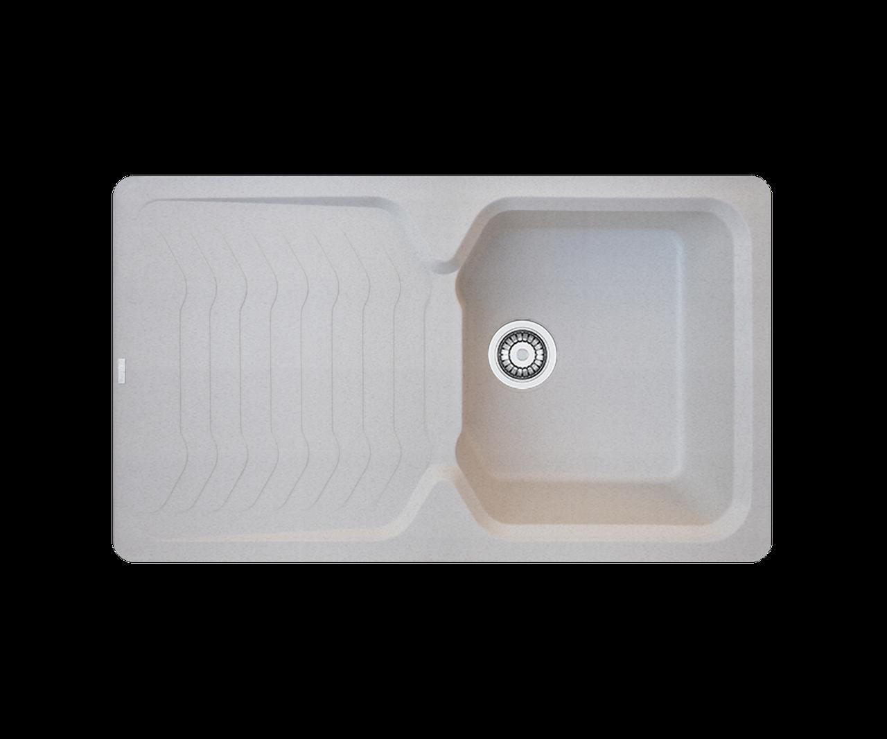 Кухонна мийка гранітна Borgio PRT-860х500 піщаний