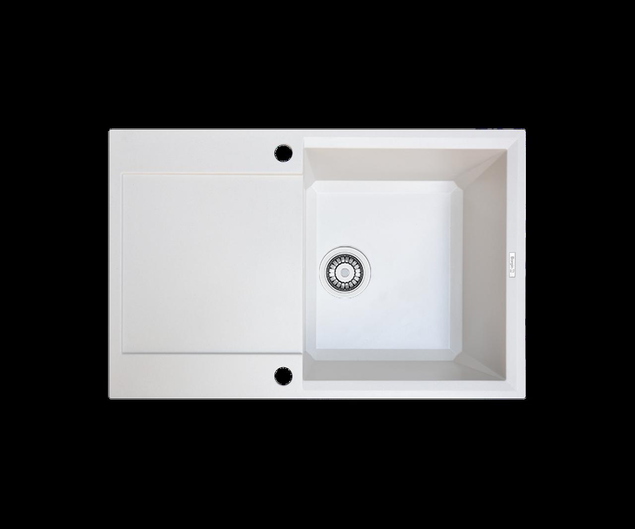 Кухонна мийка гранітна Borgio PRH-790x500  перлистий