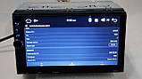Автомагнітола піонер Pioneer 8701 2din Android GPS+WiFi+4Ядра, фото 5