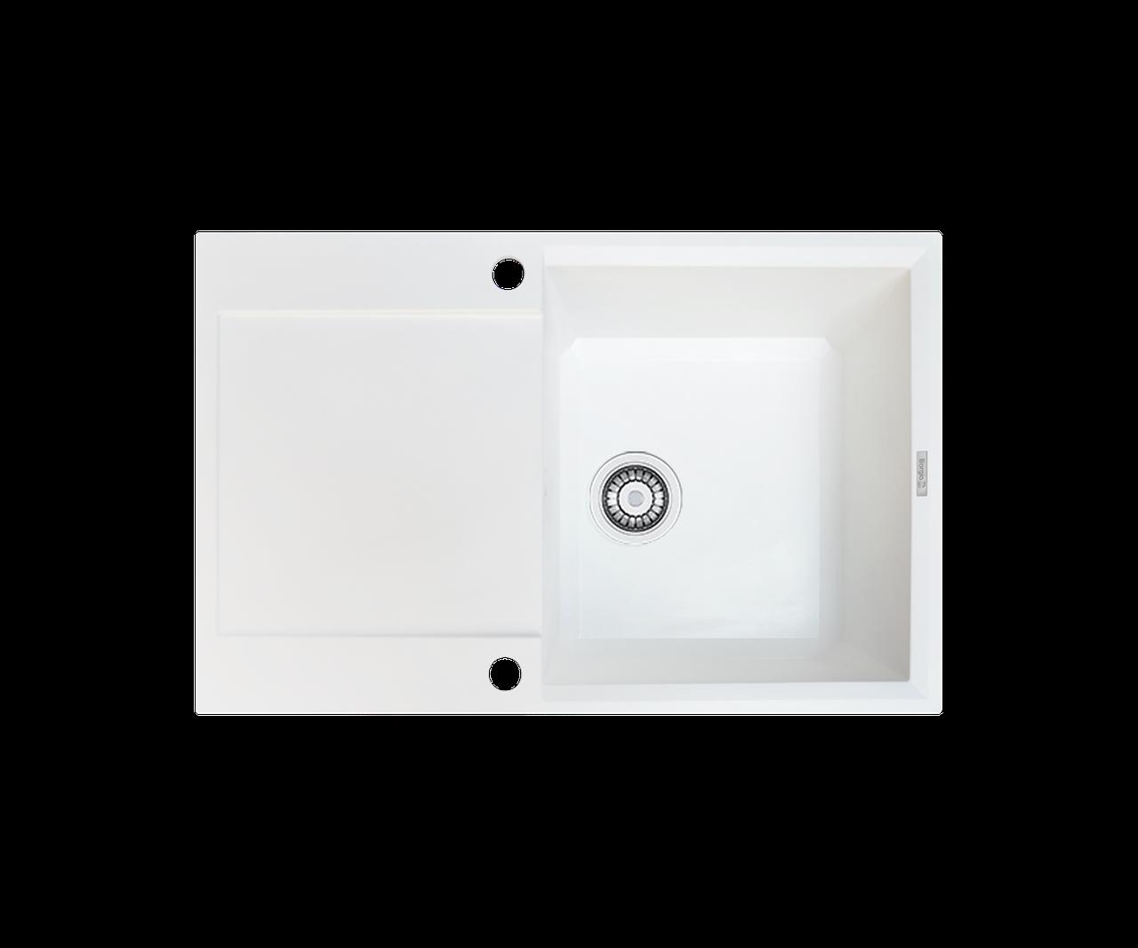 Кухонна мийка гранітна Borgio PRH-790x500 білий