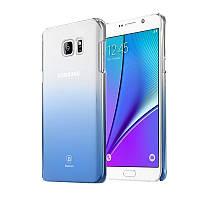 Чехол Baseus Gradient для Samsung Galaxy Note 5 Blue