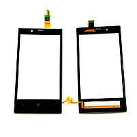 Сенсорный экран для мобильного телефона Nokia Lumia 720 Black