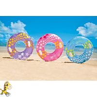 Детский надувной круг для плаванья Intex 59256 диаметр 91 см