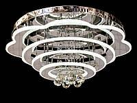 Светодиодная потолочная люстра с хрустальными подвесками с пультом-диммероми A5045-600 Dimmer, фото 1