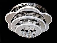 Светодиодная потолочная люстра с хрустальными подвесками с пультом-диммероми A5045-450 Dimmer, фото 1