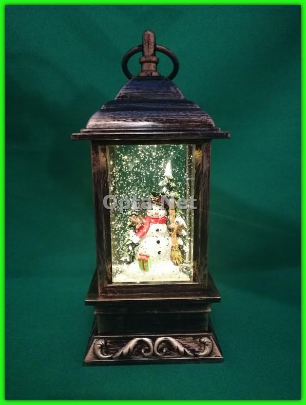 Декоративный рождественский фонарь