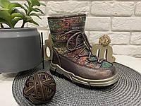 Блестящие детские луноходы зимние сапоги ботинки