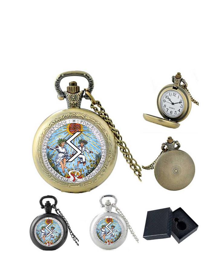 Карманные часы Викинг и Руна Соулу