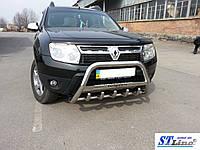 Кенгурятник Dacia Duster (10+) защита переднего бампера кенгурятники на для Дачия Дастер Dacia Duster (10+) d51х1,6мм