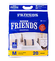 Пелюшки 60х60см 20шт одноразові Friends Premium