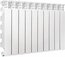 Алюминиевый секционный радиатор Libeccio C2 500/100 869Вт 5 секций