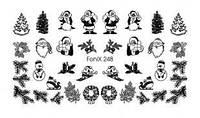 Слайдер-дизайн - FoniX 248 - Зима, Новый Год