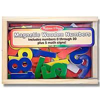 Развивающая игрушка Melissa&Doug Магнитные деревянные цифры (MD449)