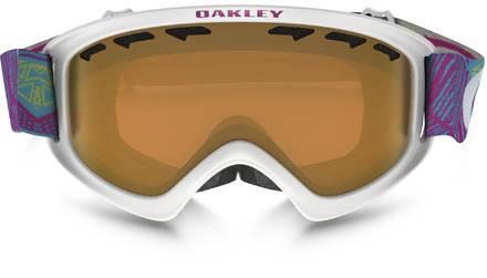 Гірськолижна маска дитяча Oakley O2 XS Geo Chaos Neon Pink/Persimmon Ski goggles