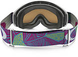 Гірськолижна маска дитяча Oakley O2 XS Geo Chaos Neon Pink/Persimmon Ski goggles, фото 3