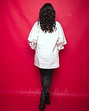 Женская кофта большого размера с начесом, фото 3
