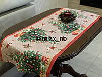 Новогодняя дорожка на стол размер  140*47
