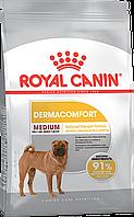 Корм для средних пород при кожных раздражениях Royal Canin Medium Dermacomfort, 10 кг