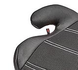 Бустер автокресло Titanium Baby детское 15-36 кг. черное, фото 3
