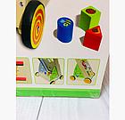 Деревянная каталка - ходунки (бизиборд Busyboard), фото 2