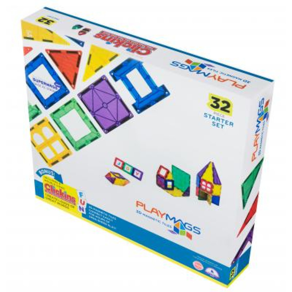 Конструктор Playmags Набор 32 элемента (PM165)