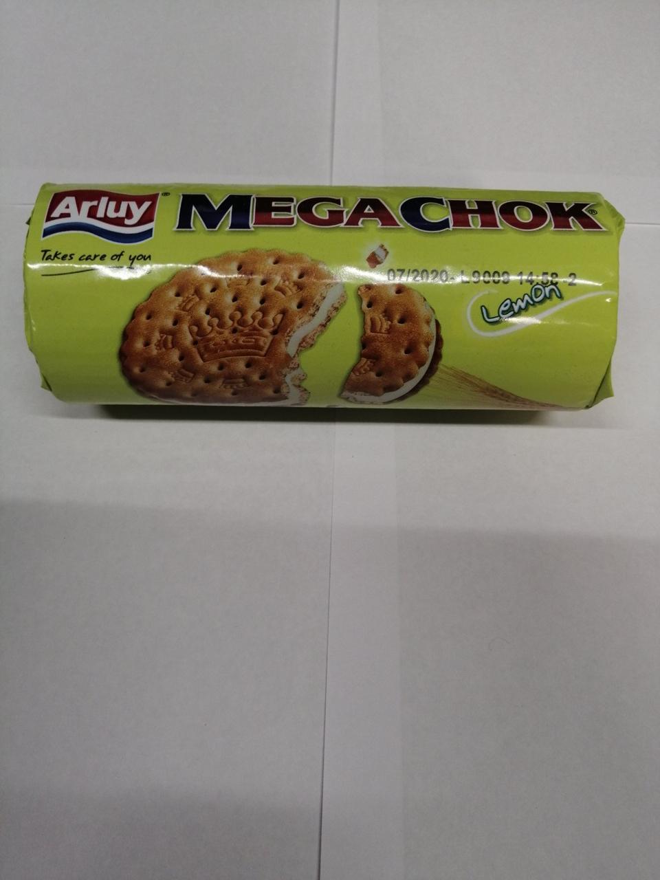 Печенье Arluy Megachok Lemon, 180 г (Испания)