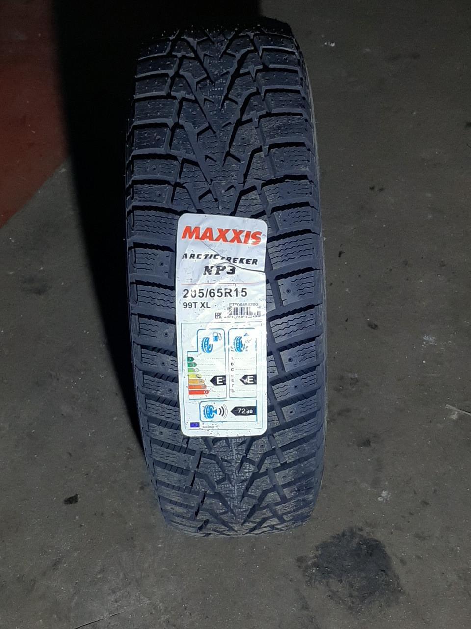 Maxxis 205/65 R 15 Arctictreker NP3 [99]T XL