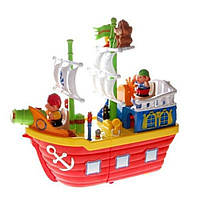 Развивающая игрушка Kiddieland Пиратский корабль (38075), фото 1