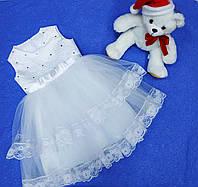 Детское нарядное бальное платье для девочки от 3-5лет