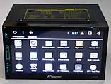 """Автомагнитола пионер Pioneer 6303 GPS 7"""" DVD Android 4 ядра 1/16 Гб, фото 2"""