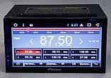 """Автомагнитола пионер Pioneer 6303 GPS 7"""" DVD Android 4 ядра 1/16 Гб, фото 3"""