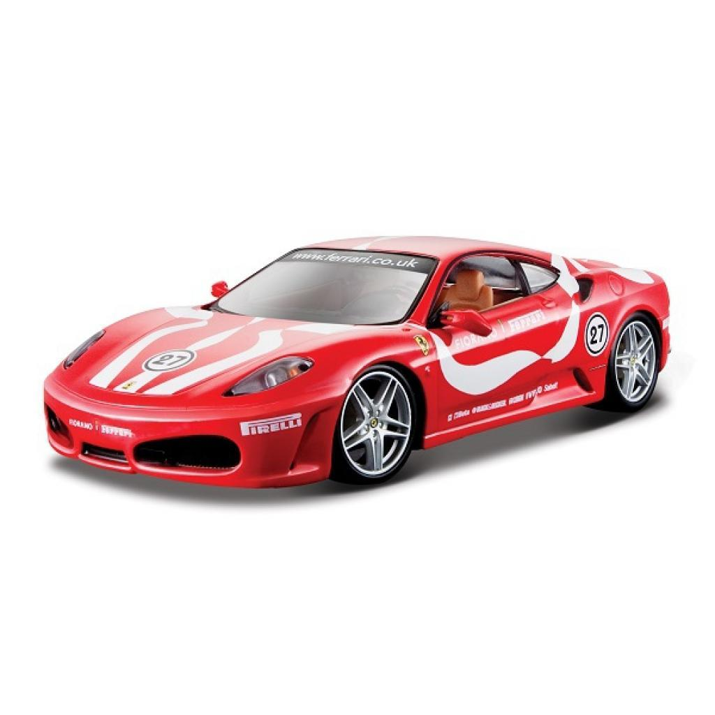 Машина Bburago F430 Fiorano красный 1:24 (18-26009_red)